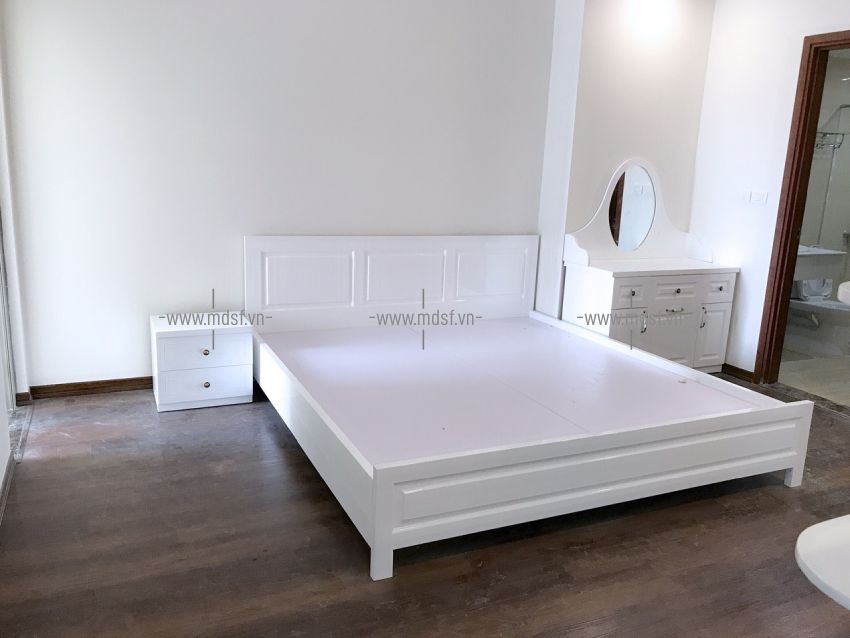 Giường ngủ chung cư ciputra