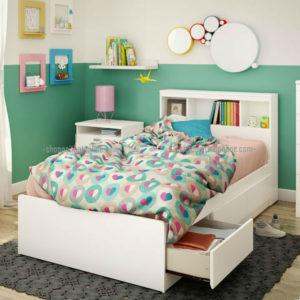 Giường đơn trẻ em có ngăn kéo