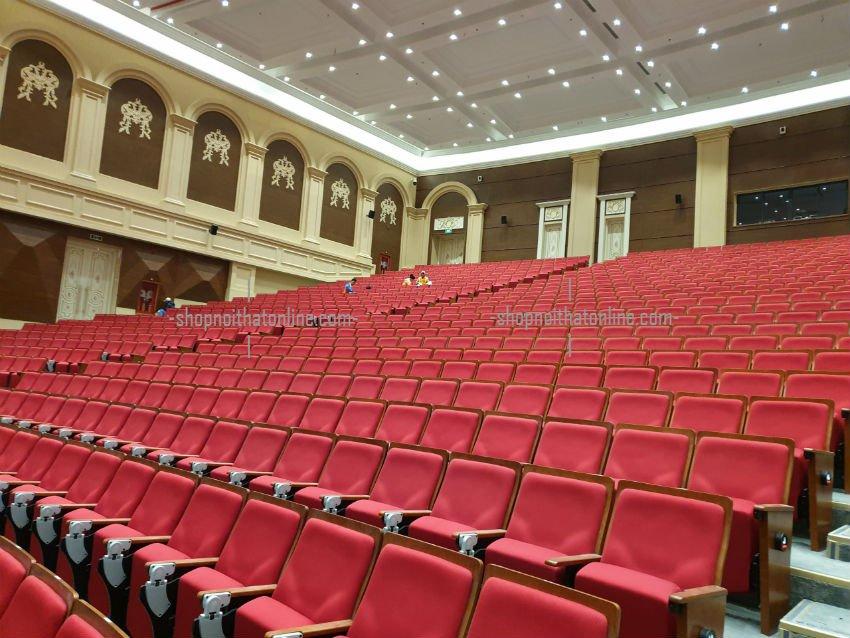 lắp đặt ghế hội trường 2