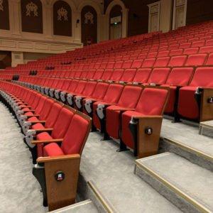 lắp đặt ghế hội trường