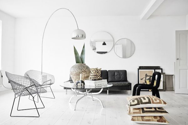 chọn màu sàn sáng cho nội thất