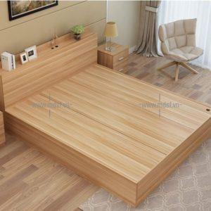 Giường hộp gỗ công nghiệp 1