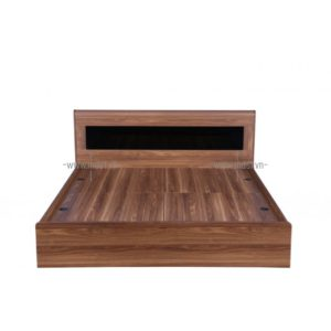 Giường hộp gỗ sồi