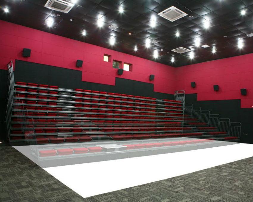 ghế khán đài di động CS01