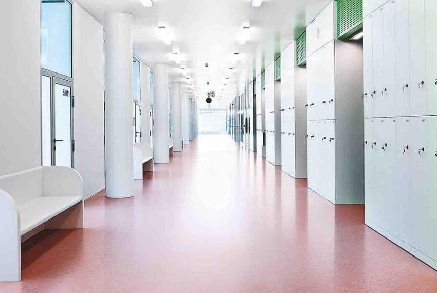 Sàn Linoleum dùng cho văn phòng
