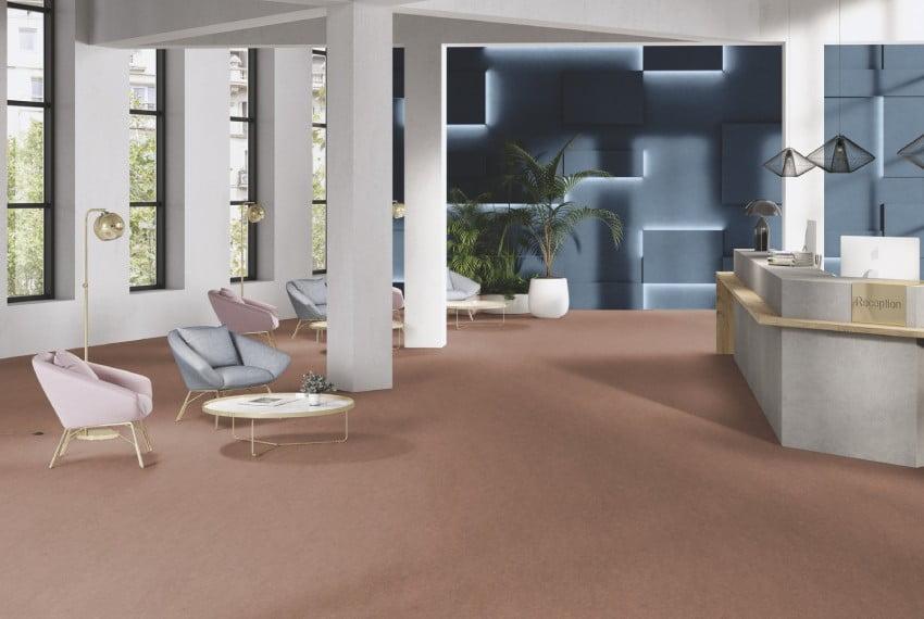 sàn linoleum cho khu vực văn phòng của các công ty