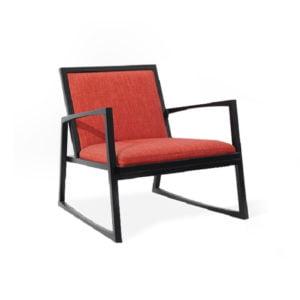 Ghế bành gỗ tự nhiên Square 3