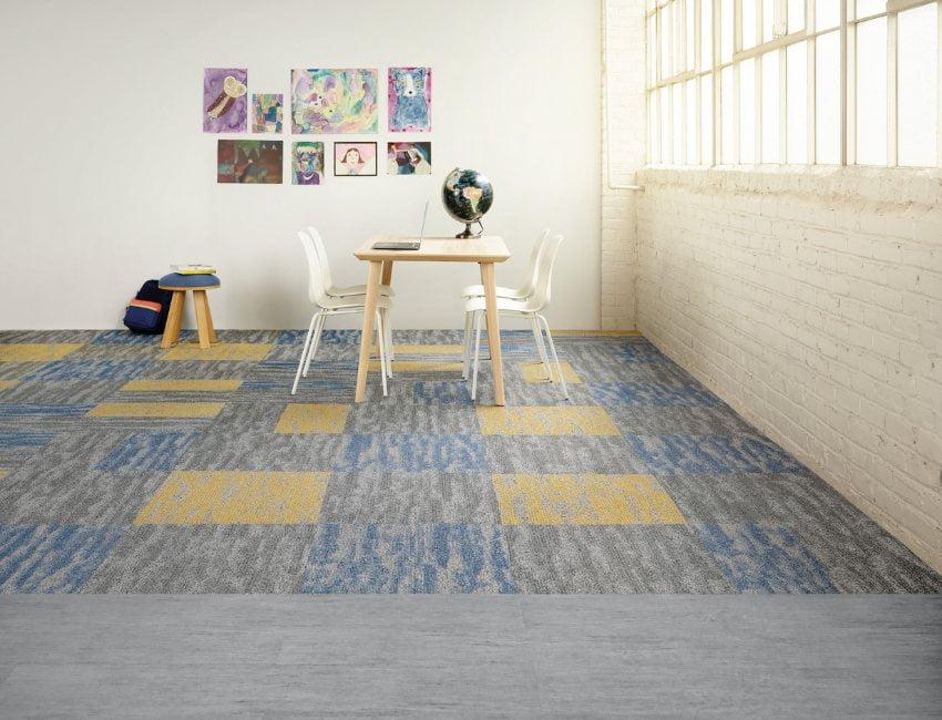Thảm trải sàn tấm cao cấp 1